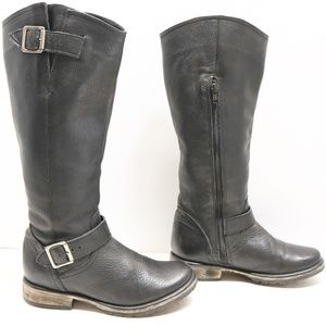 Steve Madden riding mototrcycle boots size 6.5